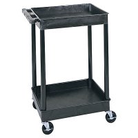 Small 2 Tub Shelf Utility Cart