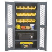 "36"" x 18"" Clearview Commercial Heavy Duty Storage Cabinet:"