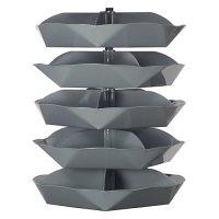 "5 Shelf 44"" Rotabins with 5 Compartments Per Storage Shelf"