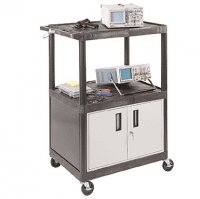 48 Inch Partially Enclosed Large Capacity Service Cart