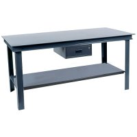36 x 72 x 34 Extra Heavy Duty Industrial Workbench