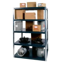 5 Shelf 48 x 18 x 72 Extra Heavy Duty Shelving